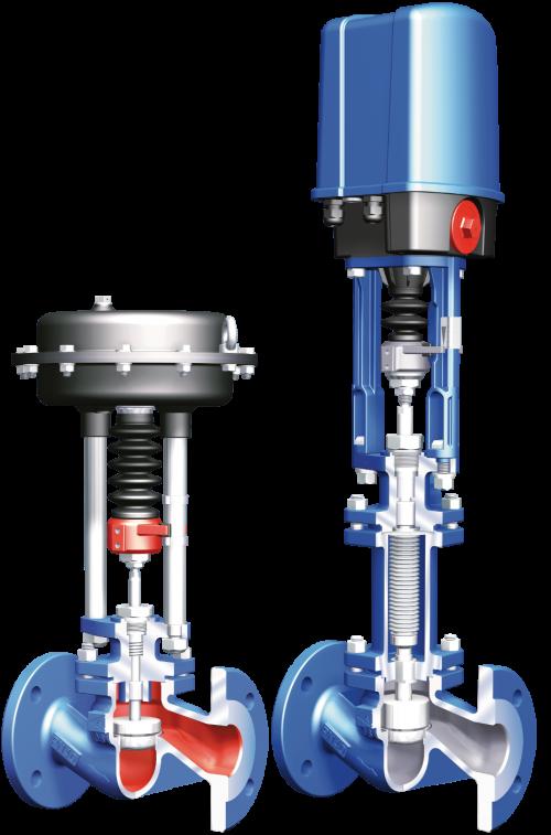 2-Way 컨트롤 밸브