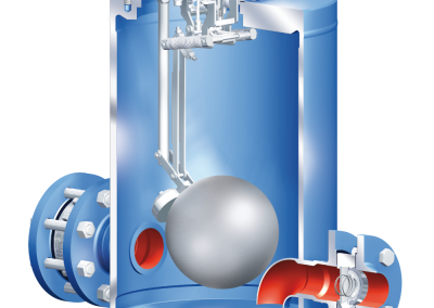 Float Operated Condensate Trap